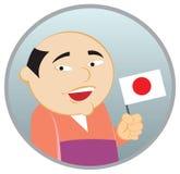 japan mężczyzna Fotografia Stock