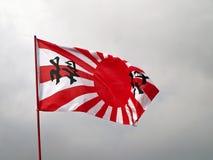 Japan-Marinemarkierungsfahne Stockfoto