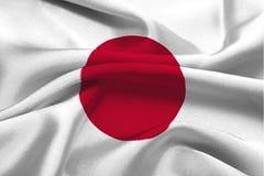 Japan-Markierungsfahne Lizenzfreie Stockfotografie