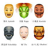 Japan masks Royalty Free Stock Photography
