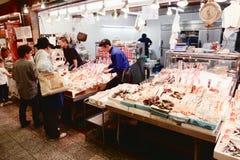 Japan matmarknad arkivbild