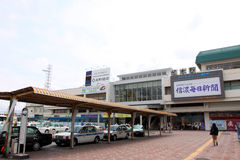 Japan : Matsumoto Station Royalty Free Stock Photo