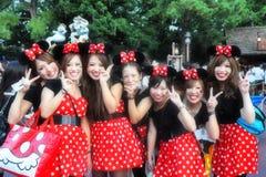Japan Micky Girl royaltyfria bilder