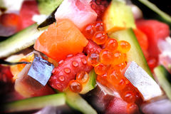 Japan Mix sashimi Stock Photography