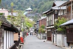 Japan - Miyajima. Japan - island Miyajima in Hatsukaichi (Hiroshima prefecture, region Chugoku stock images