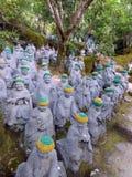 japan Miyajima Daisho-in tempio Fotografia Stock Libera da Diritti