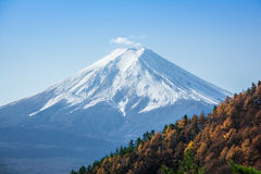 Japan Mount Fuji Autumn View from Mount Mitsutoke Royalty Free Stock Photos