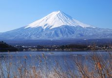 Japan, Mount Fuji Royalty Free Stock Photo