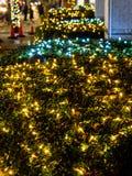Japan-Nachtansichtbeleuchtung Tokyo lizenzfreie stockfotografie