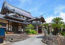 japan nagasaki Fukusai tempel Arkivfoto