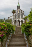 Japan. Nagasaki. The Oura Church. Stock Photos