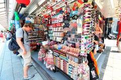 Japan :Nakamise dori in Asakusa, Tokyo Stock Image