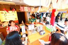 Japan :Nakamise dori in Asakusa, Tokyo Stock Images