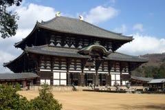 japan Nara świątyni todaiji Obrazy Royalty Free