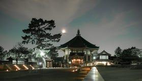 Japan nara light festival in pasrk Royalty Free Stock Image