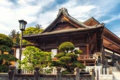 Japan Narita, tempeltakdetalj Fotografering för Bildbyråer