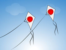 Japan National Foundation Day background. Illustration of elements for Republic Day Stock Photos