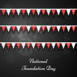 Japan National Foundation Day background. Illustration of Japan Flag for National Foundation Day Royalty Free Stock Images
