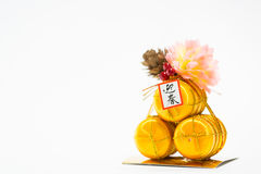 Japan New Year decorations Royalty Free Stock Image