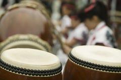 Japan Nikko Taiko drumming Stock Photos