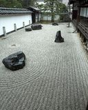 Japan ogrodowa Kioto rock fotografia stock