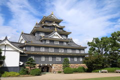 Japan : Okayama Castle Royalty Free Stock Images