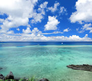 japan okinawa seascape Royaltyfri Foto
