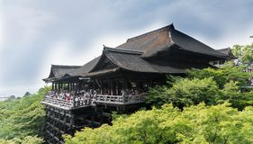 Japan. Old architecture Buddhism Stock Photos