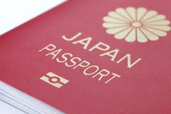 Japan Ordinary passport Stock Photo