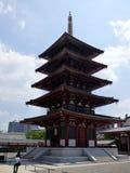 JAPAN. Osaka. Shi Tenno-ji Temple. royalty free stock image
