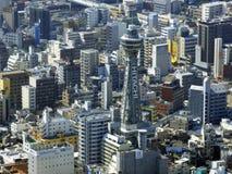 japan osaka Torre di Abeno Harukas fotografie stock libere da diritti