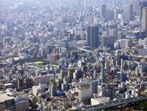 japan osaka Turm Abeno Harukas Stockfoto