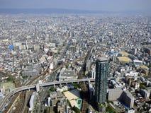 japan osaka Turm Abeno Harukas Stockbilder