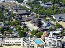 japan osaka Turm Abeno Harukas Lizenzfreie Stockfotografie