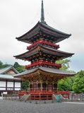 Japan. Pagoda at Narita Shinshoji temple Royalty Free Stock Photos