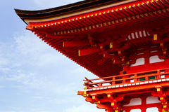 Japan Pagoda roof Stock Images