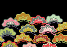 Japan pattern Stock Photo