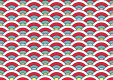 Japan pattern for cloning and putting together Royalty Free Stock Photography