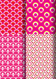Japan pattern set new 1 Royalty Free Stock Photography