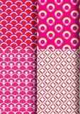 Japan pattern set new 1 Royalty Free Stock Photography