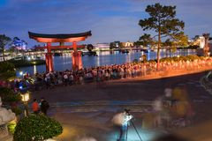 Japan Pavilion at Epcot Royalty Free Stock Images
