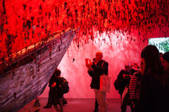 Japan paviljong, 56th Venedig biennale Royaltyfri Foto