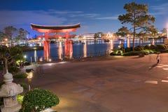 Japan-Pavillon bei Epcot lizenzfreie stockbilder