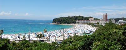 japan plażowy shirahama Wakayama Zdjęcia Royalty Free
