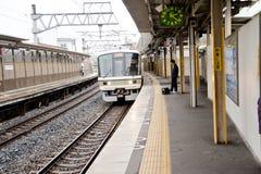japan platformy pociąg zdjęcia stock