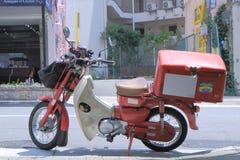 Japan Post's moped Japan Arkivbilder