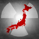 Japan radioactivity dangerous Stock Photos
