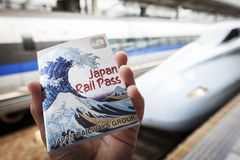 Japan Rail Pass in Okayama Station Royalty Free Stock Image