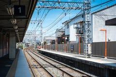 Japan rail way Stock Photography