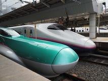 Japan Railway System-Shinkansen (Bullet Train) Royalty Free Stock Images